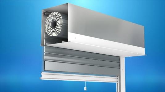 Vorbaurollladen IT2000® mit Insektenschutzgitter